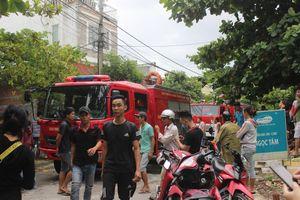 Căn phòng trọ ở Đà Nẵng bốc cháy, nhiều người hoảng loạn tháo chạy