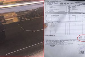 Đề nghị khởi tố người phụ nữ cào xước xe Camry để trả đũa