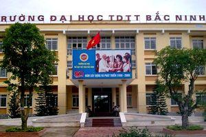 Trường Đại học Thể dục Thể thao Bắc Ninh tuyển dụng viên chức năm 2018