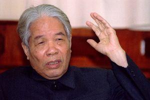 Nguyên Tổng bí thư Đỗ Mười: 'Dân có oan mới khiếu nại lên Chính phủ'