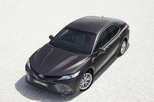 Toyota mang Camry Hybrid trở lại châu Âu