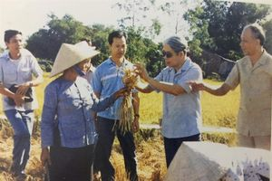 Đồng chí Đỗ Mười - nhà lãnh đạo chú ý đến chính sách nông nghiệp