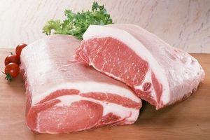 Thịt lợn... xuống và lên