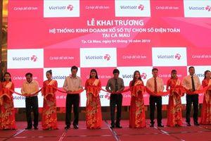 Vietlott mở rộng kinh doanh thêm 6 tỉnh/thành, phủ sóng đến cực Nam Tổ quốc