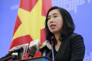 Bộ Ngoại giao trả lời báo chí quốc tế việc Tổng Bí thư được giới thiệu để Quốc hội bầu giữ chức Chủ tịch Nước