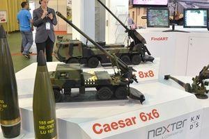 Pháp mang pháo tự hành Caesar sang Việt Nam chào hàng