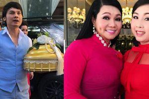 Dàn sao Việt đi bê tráp cho nghệ sĩ Trọng Nghĩa cưới vợ ở tuổi 52