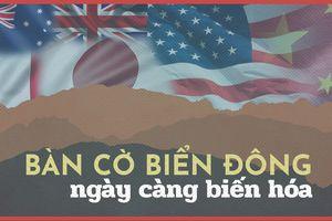 Bàn cờ 'tự do hàng hải' ở biển Đông ngày càng biến hóa