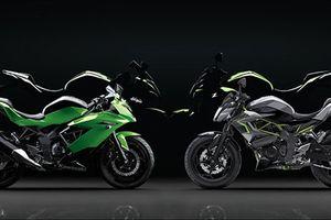 Bộ đôi xe môtô giá rẻ Kawasaki Ninja 125 và Z125 trình làng