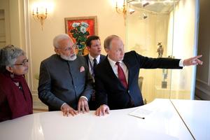 Tổng thống Nga thăm Ấn Độ củng cố quan hệ đối tác chiến lược