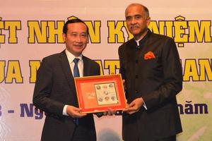 Ấn Độ long trọng kỷ niệm 150 năm ngày sinh vị cha già dân tộc Mahatma Gandhi tại Việt Nam