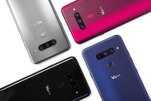 LG V40 ThinQ trình làng với 5 camera, giá từ 900 USD