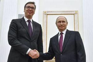 Đằng sau chuyến thăm Nga của Tổng thống Serbia