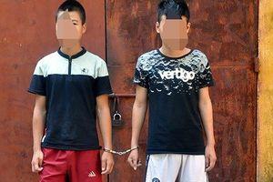 Vĩnh Phúc: 2 cướp 'nhí' bám đuổi, cướp tài sản của người đi đường trong đêm