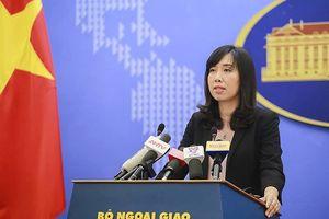 Vấn đề Biển Đông: Việt Nam đề nghị các bên thượng tôn pháp luật