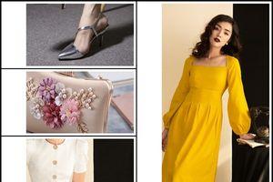 Gợi ý mẫu váy và phụ kiện 'bắt trend' dự tiệc mùa cưới 2018