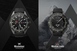 LG công bố Watch W7, smartwatch lai đầu tiên chạy Wear OS