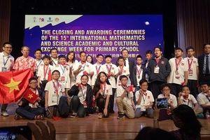 Việt Nam giành 8 HCV tại kỳ thi Toán và Khoa học quốc tế IMSO
