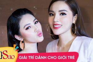 Jolie Nguyễn phát ngôn bất nhất về thông tin 'chị chị em em cũng tan đàn' với Hoa hậu Kỳ Duyên