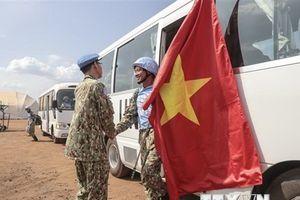 Bệnh viện dã chiến cấp 2 số 1 đến Cộng hòa Nam Sudan