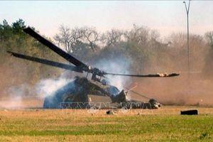 Trực thăng Nga rơi xuống rừng bốc cháy, 3 người thiệt mạng