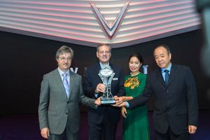 VinFast nhận giải thưởng đáng ngưỡng mộ tại Paris Motor Show 2018