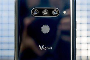 LG V40 ThinQ ra mắt: 5 camera chip S845, RAM 6 GB, giá gần 21 triệu