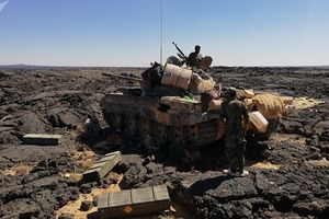 Quân đội Syria cắt đứt nguồn cung cấp nước, IS kiệt quệ ở Al-Sweida