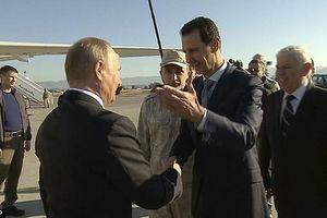 Tổng thống Putin tuyên bố mục tiêu tối hậu tại Syria