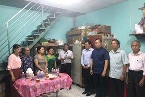 Sở TNMT TPHCM tài trợ xây nhà tình thương