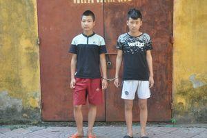 Hai thiếu niên sinh năm 2k rủ nhau đi cướp điện thoại iPhone 6 Plus của cô gái trẻ
