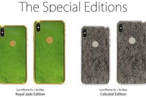 iPhone Xs siêu sang chảnh làm từ đá ngoài hành tinh, giá 'chỉ' 69 tỷ đồng