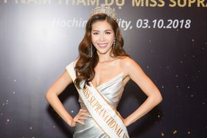 Minh Tú và chiếc vương miện Miss Supranational Vietnam 2018