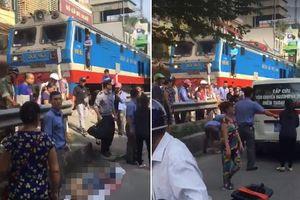 Hà Nội: Tai nạn chết người giữa phố khi tàu vừa ra khỏi ga