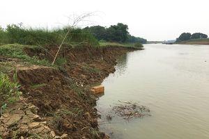 Thanh Hóa: Nguyên nhân nào dẫn đến tình trạng sạt lở đất nông nghiệp của người dân?