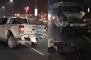 Hà Nội: Lái xe bán tải tử vong sau khi dừng xe khắc phục sự cố