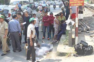 Hà Nội: Thiếu quan sát khi băng qua đường sắt, người đàn ông bị cán tử vong