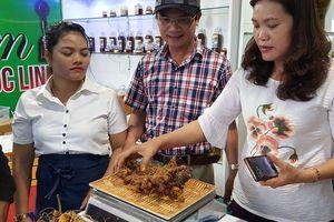 Quảng Nam thu được gần 4,5 tỷ đồng trong phiên chợ sâm Ngọc Linh