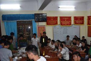Triệt phá sới cờ bạc quy mô lớn tại Ninh Bình