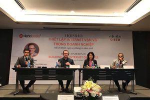 Ra mắt sách 'Thiết lập Internet vạn vật trong doanh nghiệp'
