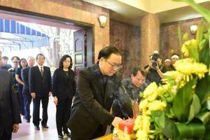 Trang trọng lễ tang đồng chí Nguyễn Đình Sở