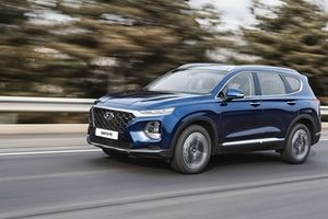 Hyundai SantaFe mới rục rịch ra mắt Việt Nam