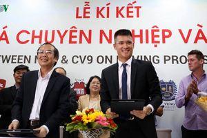 Lê Công Vinh quyết tâm đưa bóng đá chuyên nghiệp vào học đường