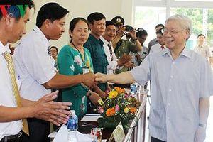 'Nói đi đôi với làm, Tổng Bí thư Nguyễn Phú Trọng tạo nên uy tín'