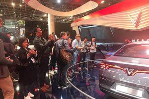 Paris Motor Show 2018: VinFast tiếp tục là tâm điểm