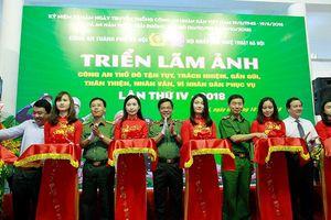 Lan tỏa hình ảnh gần gũi, thân thiện về người chiến sỹ Công an Hà Nội đến với mỗi người dân