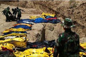 Thảm họa Indonesia: Đang đào hố chôn tập thể thứ hai