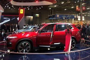 Xe VinFast tiếp tục thu hút chú ý ở Paris Motor Show 2018