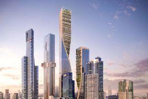 Tháp Green Spine 'soán ngôi' tòa nhà cao nhất Australia