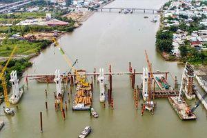 Chùm ảnh hơn 5 tháng 'bất động' của dự án chống ngập 10.000 tỉ đồng ở Sài Gòn